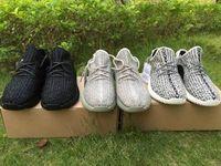 kanye west 350 Boost Moonrock men Boots Kanye West Sneakers ...