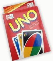 Divertissement Jeux de cartes cartes UNO Fun Poker Jouer 50sets Livraison gratuite Cartes Famille Drôle Jeux de société standard DHL / lot