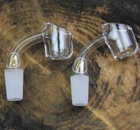 Illadelphshop Quartz Nail 100% Real Quartz 4mm d'épaisseur Femme Homme 10mm 14mm 18mm quartz banger clou 45 degrés 90 degrés pour tuyau d'eau