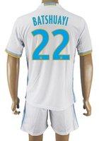 Customized 16- 17 home 22 BATSHUAYI Soccer Jerseys With Short...