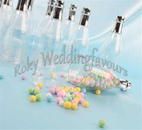 FREE SHIPPING+ 48pcs lot Plastic Champagne Bottle Favors Hold...
