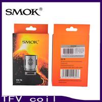 Smok TFV8 tête de bobine V8-T8 V8-T6 V8-Q4 V8 RBA bobines de remplacement pour TFV8 Cloud Beast réservoir 0266101