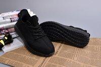 Kanye Boost 650 Men Womens Running Shoes Pirate Black Sneake...