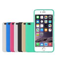Pour iPhone 7 / 7plus imperméable cas téléphone sac coloré pleine couverture étui extérieur pour iPhone 6 / 6s / 5s