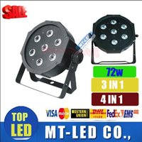10 unit led stage light 7x12W 72w voice- control AC110- 240V L...