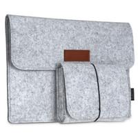 dodocool 12 Inch Laptop Sleeve Felt busta copertura Ultrabook trasporto notebook Custodia Borsa di protezione con il mouse il sacchetto DA58