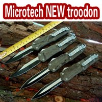 Factory direct microtech Knives NEW troodon A07 knives Camou...