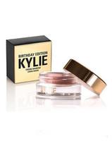 2016 Последним Дженнер День рождения Editon Кайли Косметика Крем Shadow Медь + розовое золото Creme OMBRE совершенный Kylie глаз