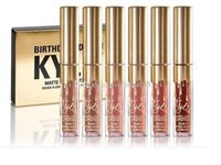 6pcs=1lot with box Kylie Gold mini kit THE LIMITED EDITION K...