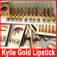 Kylie Jenner Lip Birthday Bundle Gold Limited Edition Kylie ...