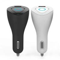 R6000 Auricular sin hilos portable de Bluetooth Auricular sin manos estéreo Earbuds W Cargador del teléfono del coche del muelle del USB 2 en 1 para Iphone