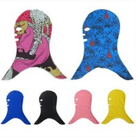 SBART Diving Facekini Swim Cap Sun Block Face Mask Swimming ...