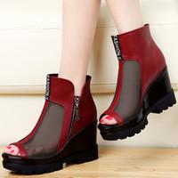 Quality Assurance Women Dress Shoes Hight Increasing Breatha...