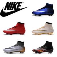 2016 Factory Nike Mercuria Mens Soccer Boots High Quality CR...