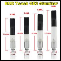 BUD tactile Vaporisateur WAX CBD Hemp Oil atomiseur 510 Cartouche O Pen Vapor fumeurs Kit Mini réservoir CE3 Clearomizer Livraison gratuite