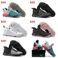Drop Shipping Wholesale Cheap Famous KD 9 IX Pre- Heat Mens S...