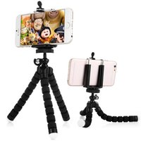 Trépieds pour appareil photo Trépied pour téléphone portable Support pour Octopus avec adaptateur de montage pour iPhone 5S 6S Plus Sony Sony HTC Smartphone Camera 1yz