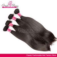 4pcs lot Hair Extension 100% Brazilian Virgin Hair UNPROCESS...