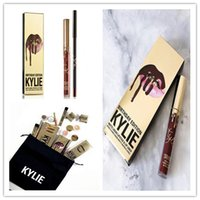 Hot Kylie Cosmetics Matte Lipstick lip gloss Kit set Lip bir...