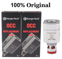 Auténtico Kanger Subtank bobinas de repuesto OCC bobinas para KangerTech Sub tanque E atomizador de cigarrillos Subtank Vaporizador