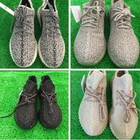 PU Shoes sneakes Boost 350 shoes 2016 Kanye Milan West Boost...