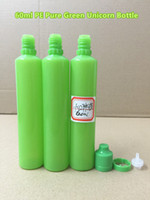 Newest Unicorn Bottle 60ml E- cig Plastic Dropper Bottle Pure...