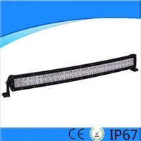 33inch 180W Super bright LED off road light bar Cree Curved ...