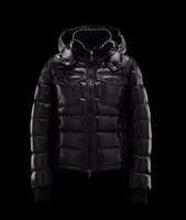 Brand New Masculino Casual Inverno Down Brasão Luxo Designer Mon Thick Down Jacket Casacos Plus tamanho acolchoado algodão roupas