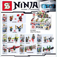 8 Design Phantom Ninja minifigures Building Blocks children ...