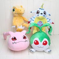 Large Size Anime Digimon Plush Toy Agumon Gabumon Tanemon Ko...