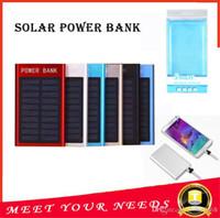 Ультра тонкий тонкий солнечный POWERBANK 8800mAh банк Xiaomi питания для мобильного телефона Tablet PC Оптовая Внешняя аккумулятор