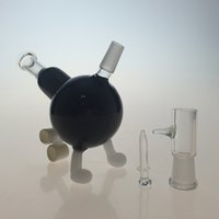 Oil Rigs Black Color Bhomb Rig Dab Glass Bongs The Cannon Gl...