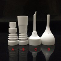 14mm and 18mm Domeless Ceramic Nails Male or Female Joint Ce...