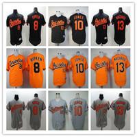 2016 Baltimore Orioles Jerseys #8 cal ripken #13 Manny Macha...