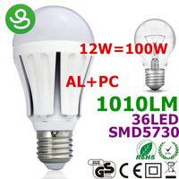 LED E27 LED Bulbs UK E27 LED Lamp Lights Lighting 12W Alumin...