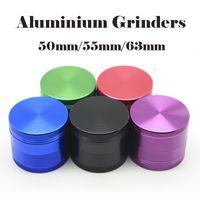 4 шт Измельчители алюминиевый CNC Grindes Херб металла Grinder 50мм 55мм 63мм металла Зуб Grinder От Sharpstone OEM имеющийся логос DHL Доставка