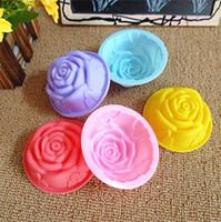 Wholesale 400 pieces 8 cm Korea Rose 60ml hand made Soap mol...