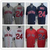 2016 Boston Red Sox 24 David Price Cool Base Baseball Jersey...