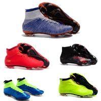 New arrivals men' s retro soccer shoes kids soccer boots...
