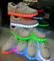 2016 led light sneakers shoes Led shoes Light up Men Shoes M...