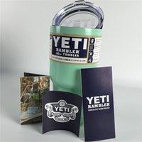 30oz Yeti Rambler Cups Stainless Steel Mugs Pink Powder Coat...