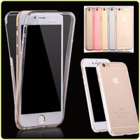 360 Degreen Full Body Soft TPU Case Front Back Cover Touch C...