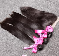 Hair Extensions 100% Brazilian Unprocessed Human Hair Weave ...