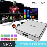 TOP ZIDOO X6 Pro Android 5. 1 Lollipop TV Box RK3368 Octa Cor...
