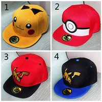 Poke pokémon go Hat Cap 4 design Adult Mesh Ball caps Adult ...
