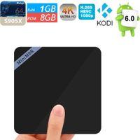 Mini m8sII Mini M8S II Android 6. 0 tv box 4K H. 265 Amlogic s...