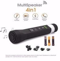 DHL Bike Speaker, 4 in 1 Portable Bluetooth Speaker with Bike...