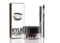 Kylie Cosmetics édition brithday kylie kyliner eye-liner et gel Gel pot Pinceau 6 types noir / brwon / caméléon / bronze