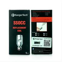 Kanger SSOCC bobines bobines de rechange 0.5ohm 1.2ohm 1.5ohm pour kit Kangertech Nebox kit subvod