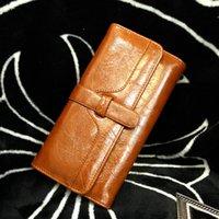 2016 Quality Fashion Women Long Wallet Handbags Ladies Leath...